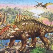 Los dinosaurios en piezas